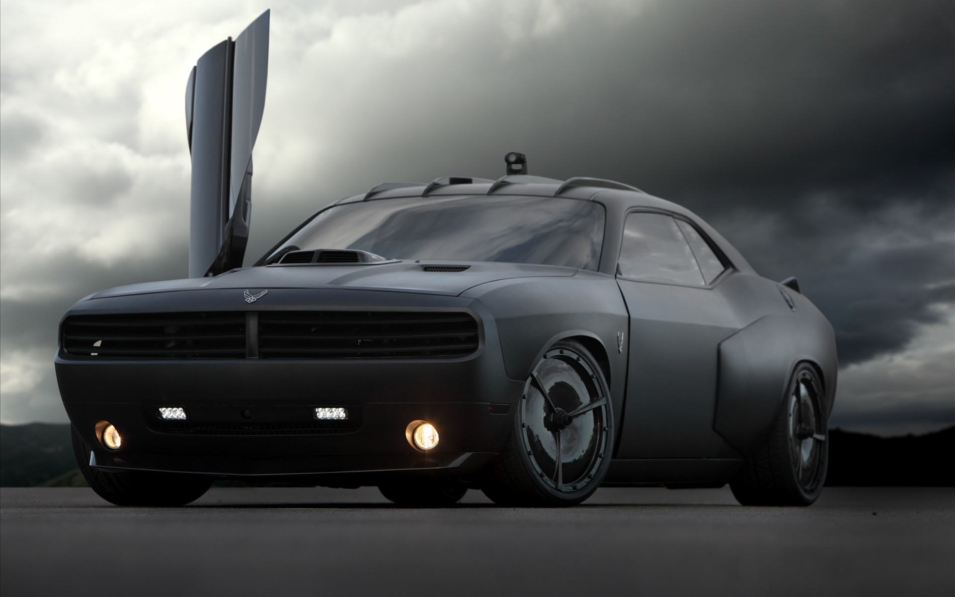 picture of Dodge Challenger, 2009, USAF Vapor