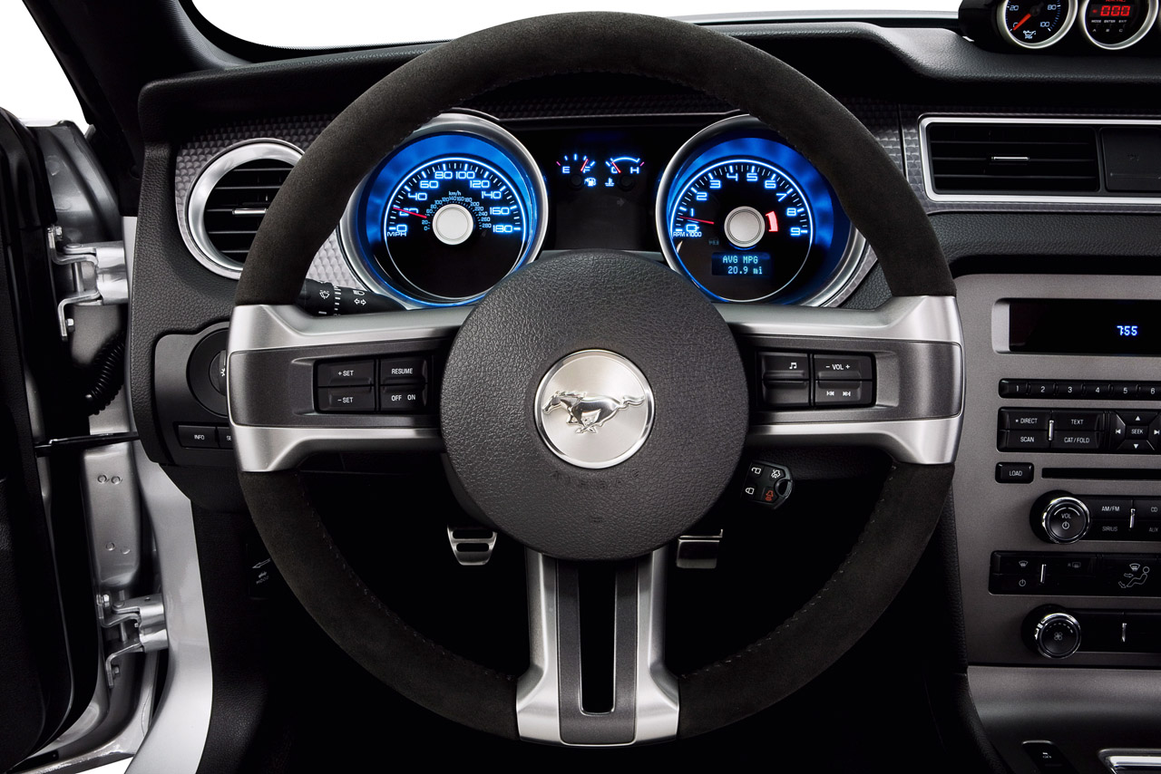 picture of Ford Mustang, 2012, Boss 302, interior