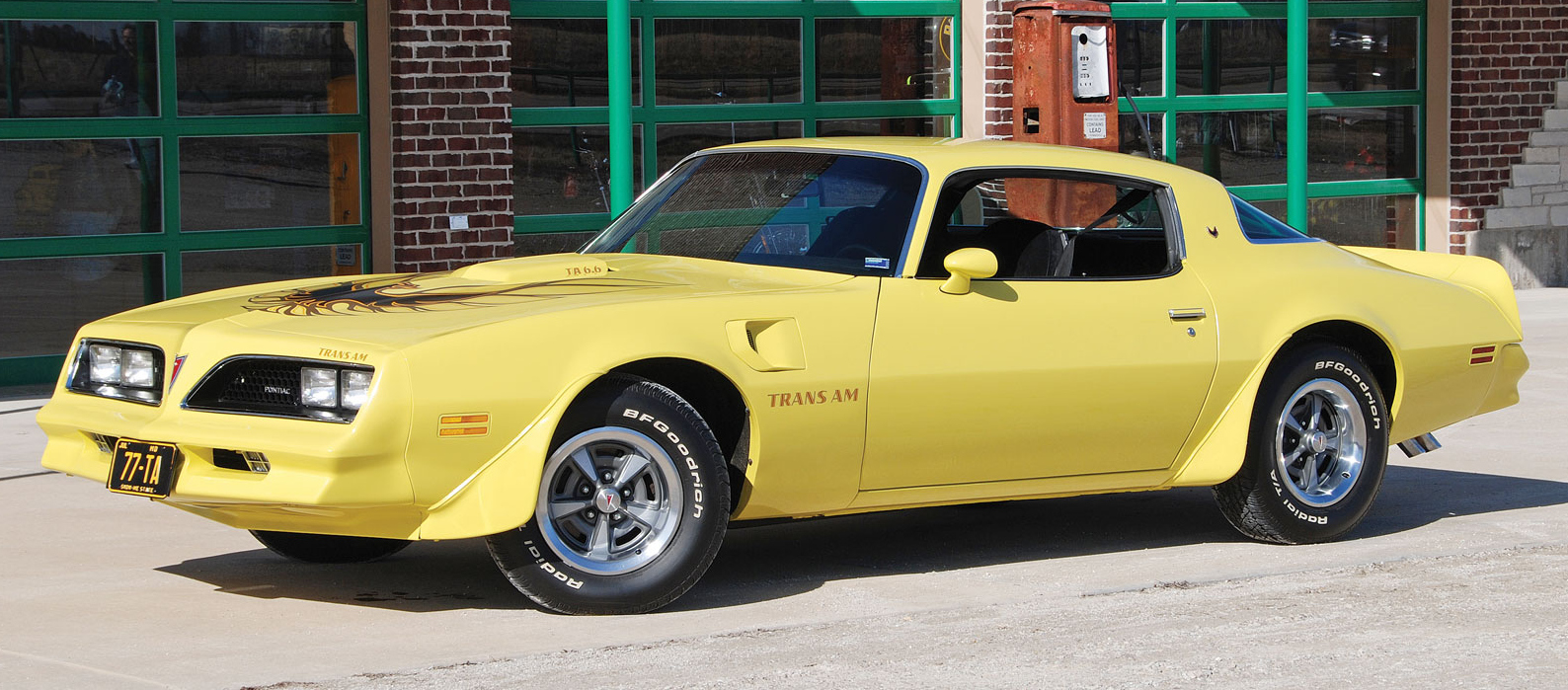 picture of Pontiac Trans-Am, 1977, yellow