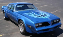 picture of Pontiac Trans-Am, 1978, blue