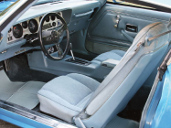 picture of Pontiac Trans-Am, 1978, blue interior