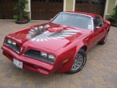 picture of Pontiac Trans-Am, 1978, red